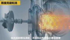 壮哉!坦克发动机增压涡轮壳的内型腔抛光!