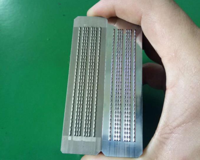 凸起棱角工件用自动抛光机抛光效果